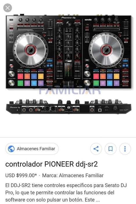 Vendo Controlador Pioneer Sr2