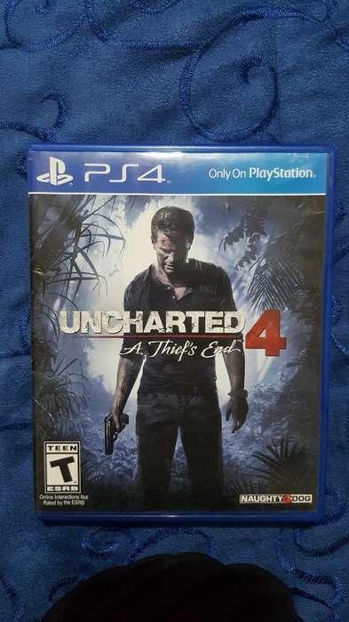 Juego Uncharted 4 Play 4