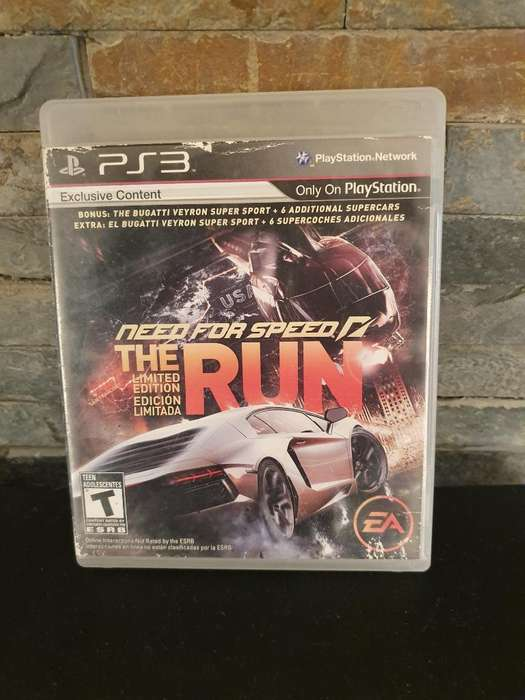 Need For Speed The Run Ps3 Fisico