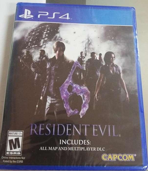 Resident Evil 6 para PS4 juego Fisico Nuevo