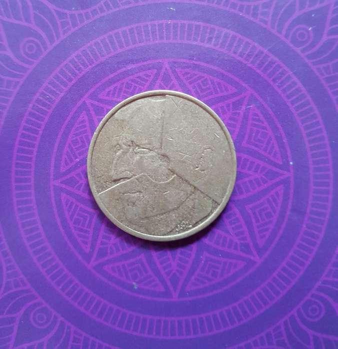 Moneda 5 Francos 1986