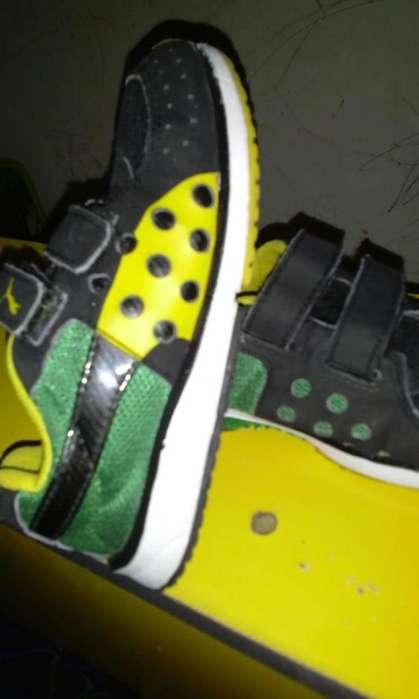 zapato niño puma original talla7 poco uso