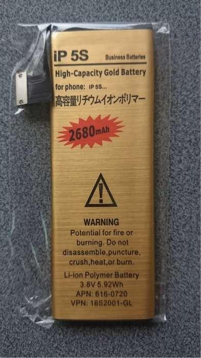 Batería Premium Larga Duración Iphone 5s 2680mahherramienta