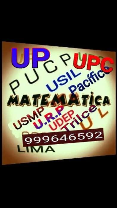 Matematica. Clases Y Asesoría Delivery