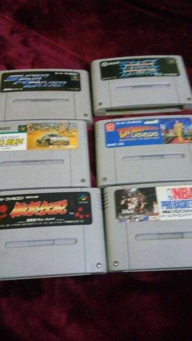 Cartuchos para Super Famicom