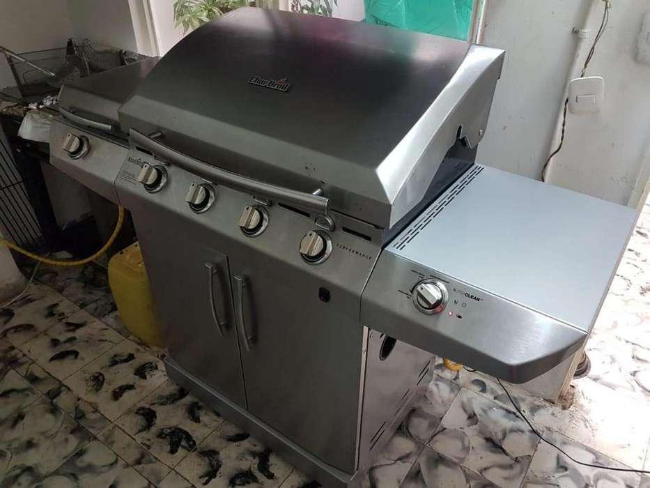 Asador Char-Broil a gas 4 quemadores infrarojo cocina lateral incluye envio