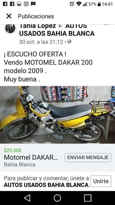 Moto Motomel Vendo