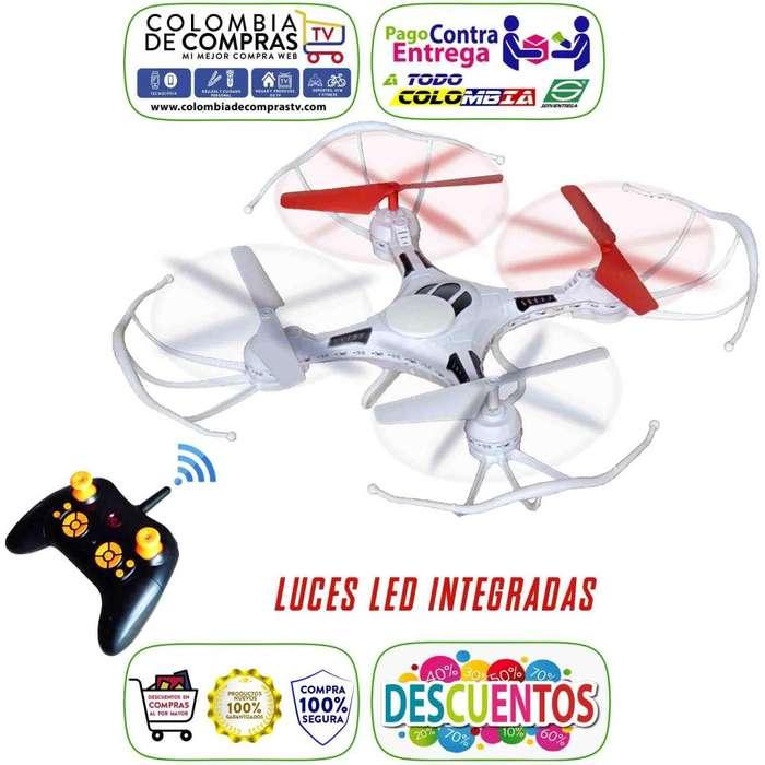Drone Luz Led integradas Recargable Facil Manejo Control incluido, Nuevos, Originales, Garantizados..