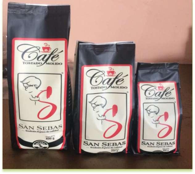 CAFÉ TOSTADO Y MOLIDO SAN SEBAS
