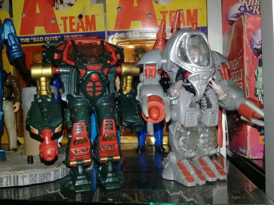 Robots Exo Squads Vintages