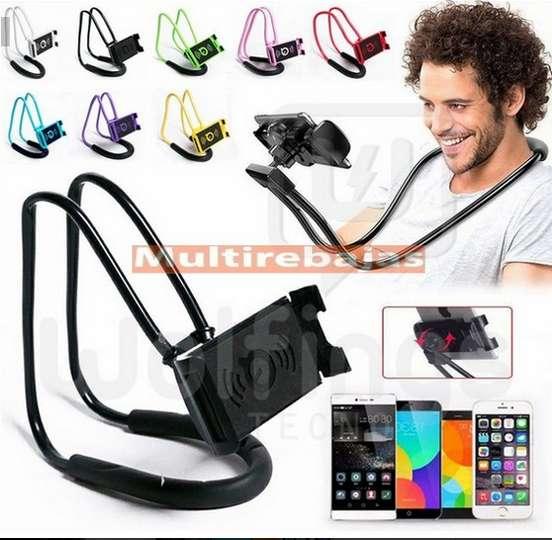 Soporte Celular Cuello Sujetador Flexible Universal Cama