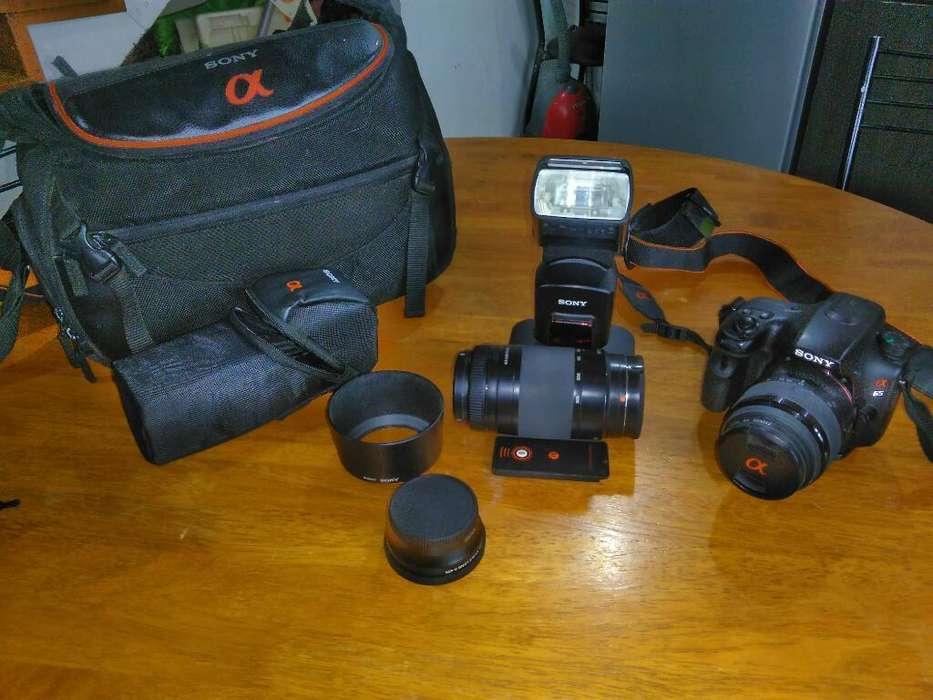 Vendo Camara Sony Alpha A65