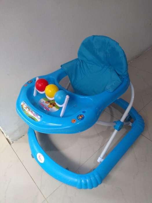 Caminador Azul para Bebe
