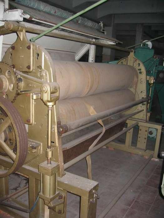 Foulard de dos cilindros engomados nuevos ancho 2,28 m