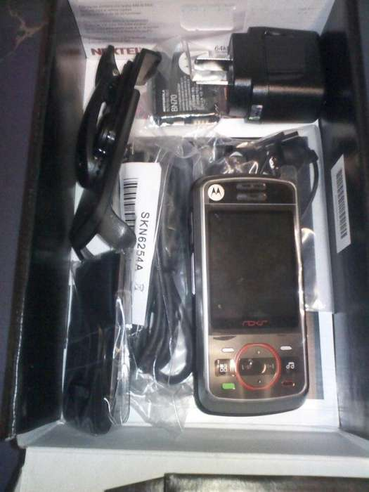 radio <strong>nextel</strong> i856 slider musica mp3 nuevo sin uso