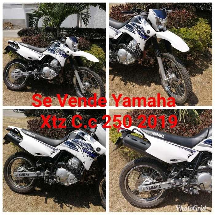 Se Vende Yamaha Xtz C.c 250 2019