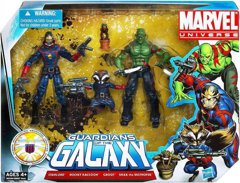 Marvel Universe 3.75 Guardians of the Galaxy Pack