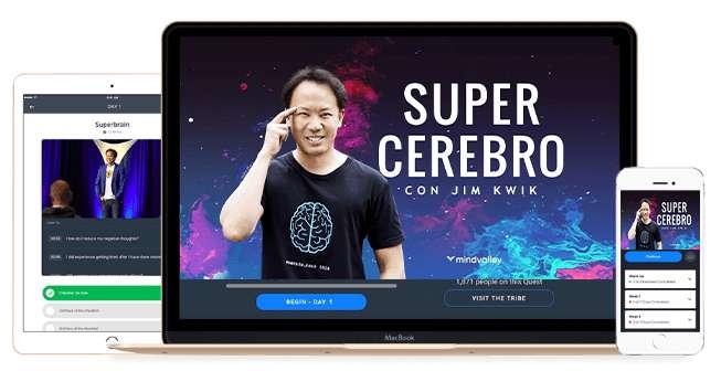 Curso Super Cerebro Jim Kwik 15.000 COP