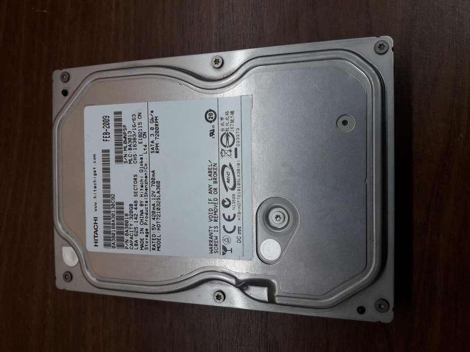 Disco Rígido Hitachi 320 Pc - C/windows 10