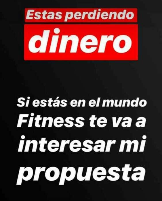 Necesito Personas para Proyecto Fitness