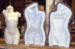 Esculturas personalizadas en diferentes materiales