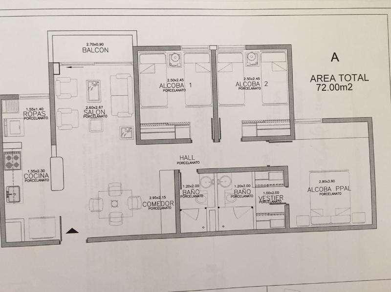 Cod. VBMER202509 Apartamento En Venta En Bello Cabañas