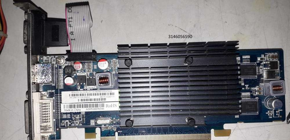 Tarjeta de Video Radeon HD 4350 1GB DDR2