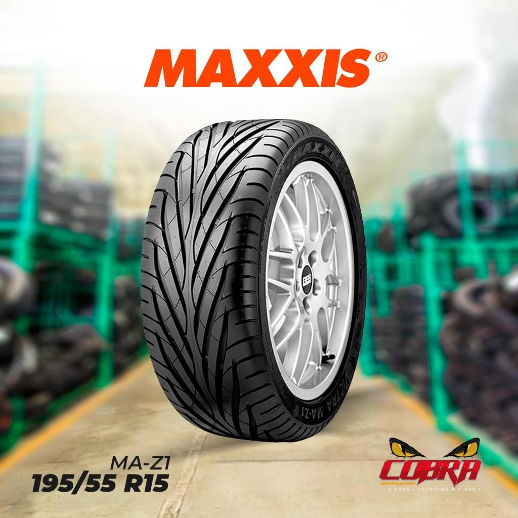 Llanta 195/55 R15 Maxxis