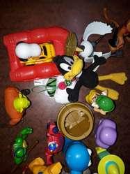 Muñecos Del Mc Donals Y Burger King