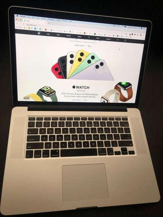 Macbook Pro Retina i7, 15 pulgadas como nueva!.