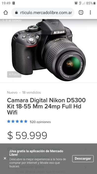 Camara Nikon D5300