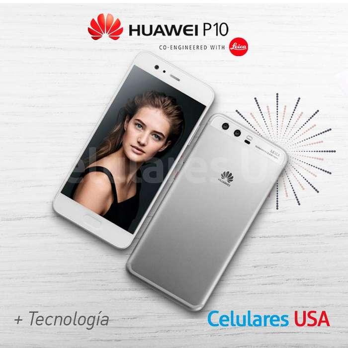 Huawei P10 32g Negro Tienda San Borja. Garantía.