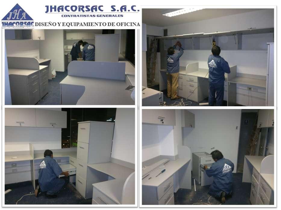 Muebles de oficina a medida, archivadores, armarios, modulos de trabajo, escritorios, mesas de trabajo,
