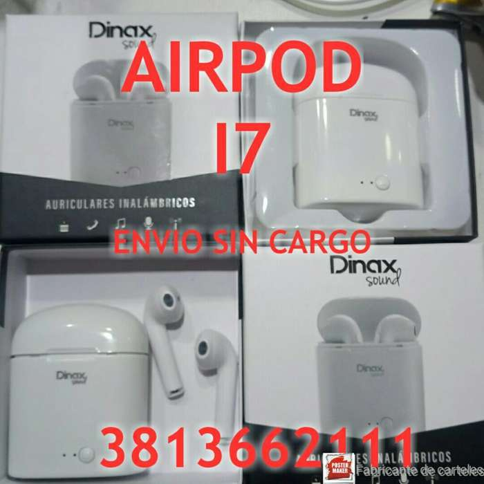 Airpod I7 Auriculares Bluetooth Exc Soni