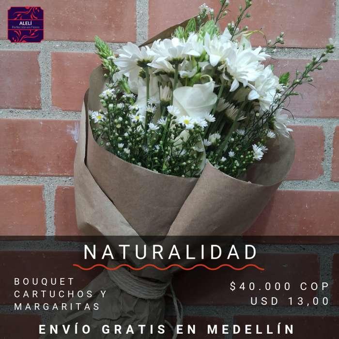 Bouquet Naturalidad - Flores Naturales