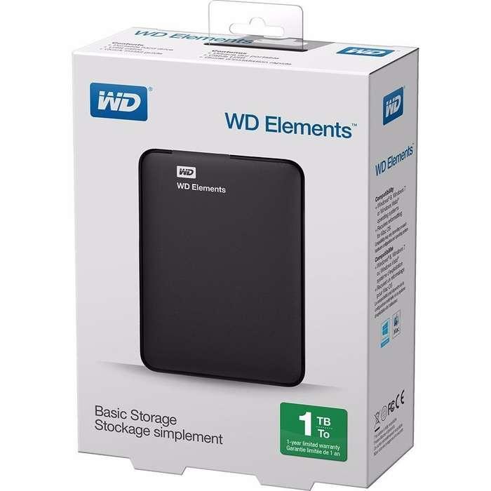 disco externo 1 tb WESTERN DIGITAL