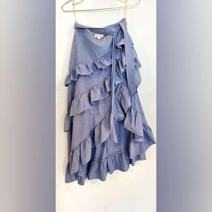 Hermosa Falda Azul Talla S