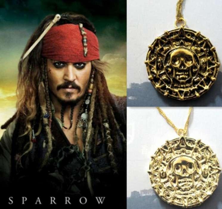 Collar Piratas Del Caribe