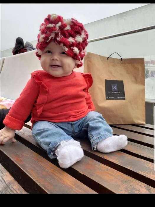 Turbante de Lana Moda Bebés Y Niños