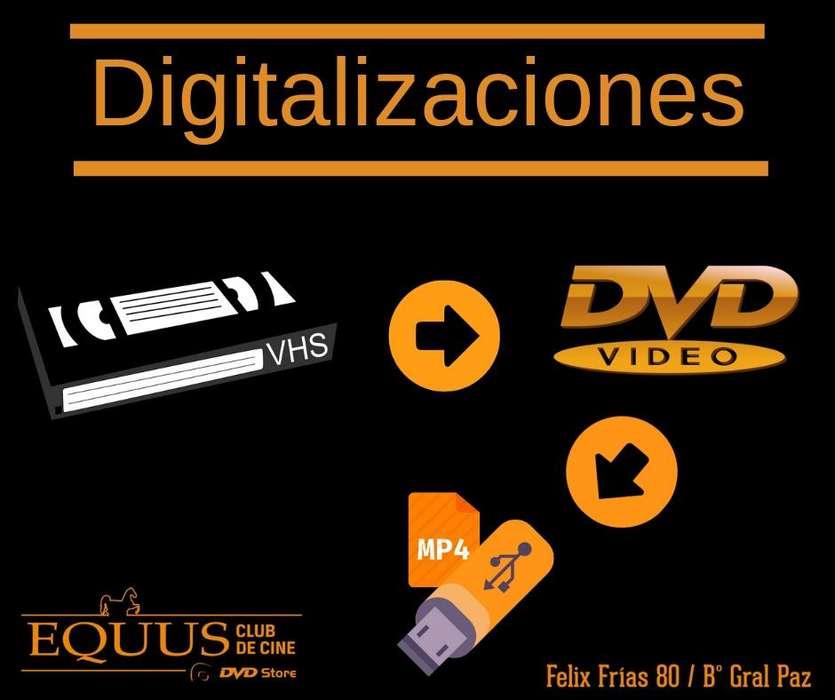 DIGITALIZACIONES DE VHS A DVD
