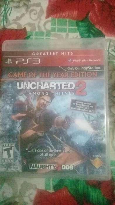 Vendo Uncharted2 Ps3 en Muy Buen Estado
