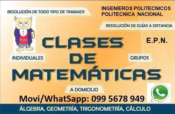 Clases Particulares de Matemáticas - Física a Domicilio
