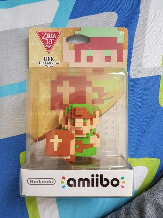 Amiibo Link 8bits The Legend Of Zelda