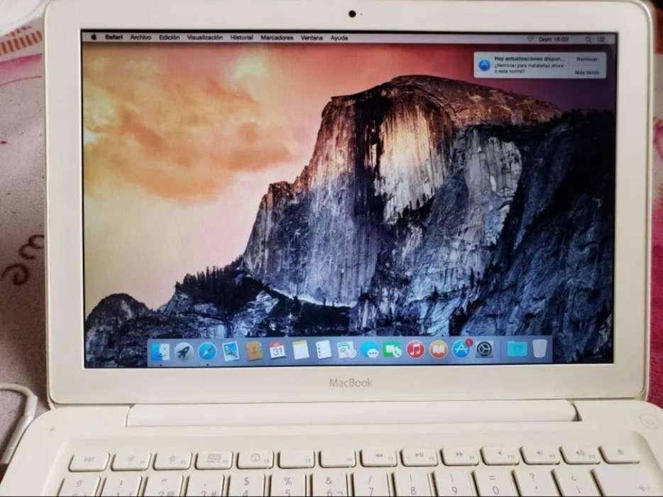 Vendo Macbook White 2010 Oferta