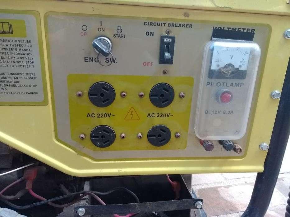 Generador 6500wts. Solo Se Usó 4 Veces.