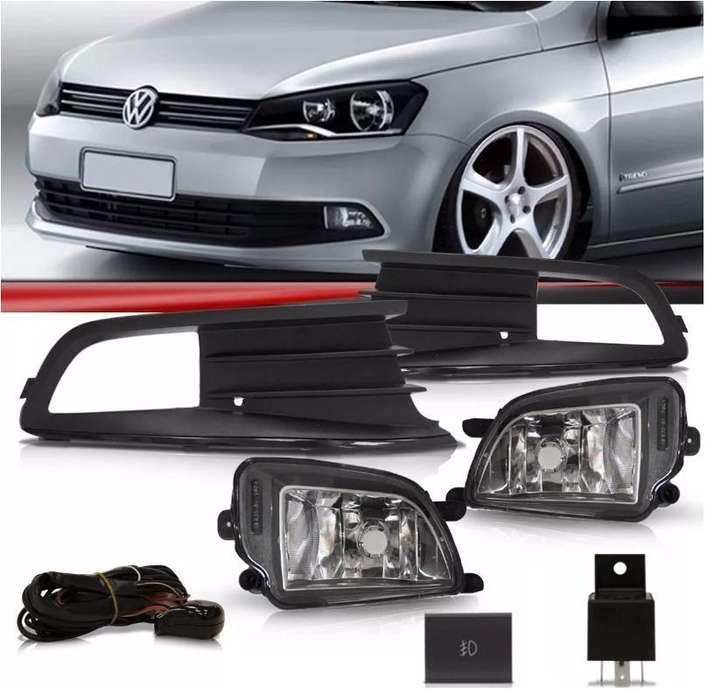 Kit de <strong>faros</strong> Auxiliares Volkswagen Voyage Gol Trend Saveiro.