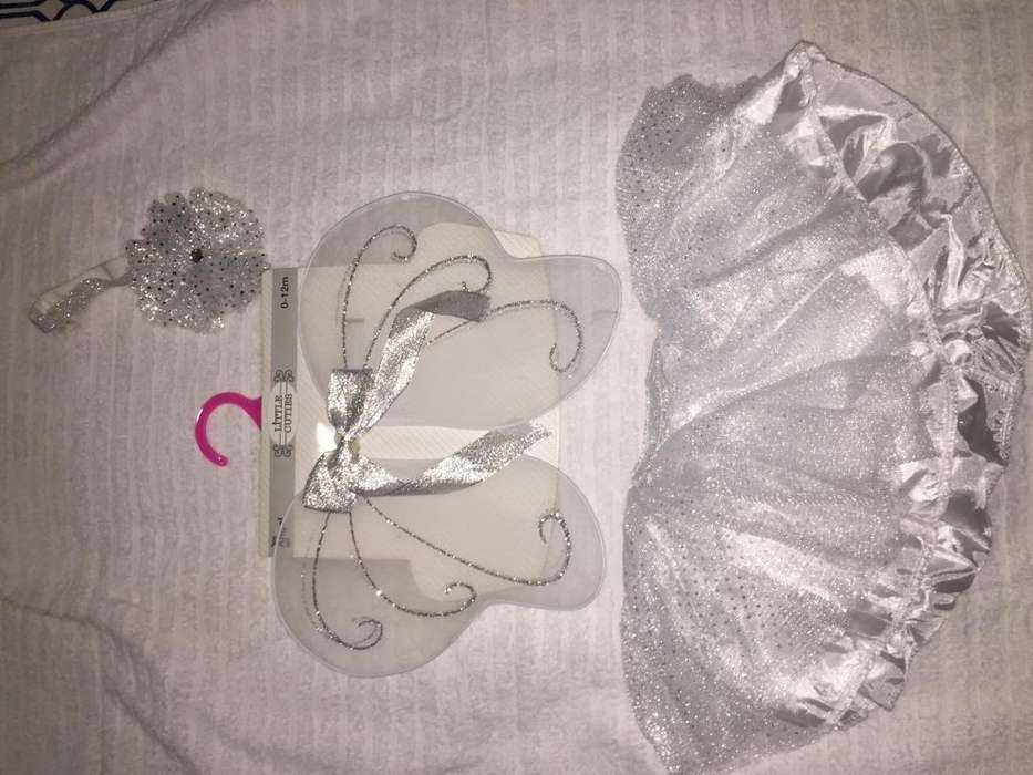 Disfraz Tutu Angel Para Bebe 312 Meses de edad