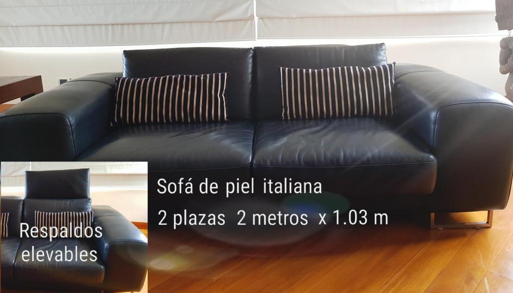 Sofas de piel italiana