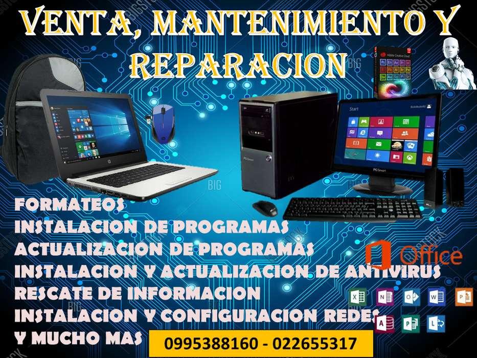 mantenimiento y reparacion de computadoras 0995388160