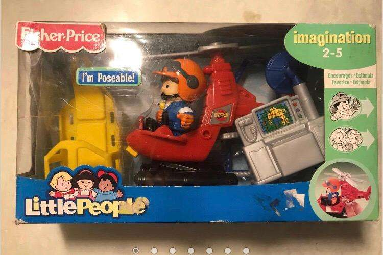 Avion Fisher Price
